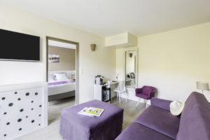 Chambre familliale hotel cassis