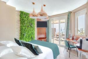Suite hotel cassis vue mer